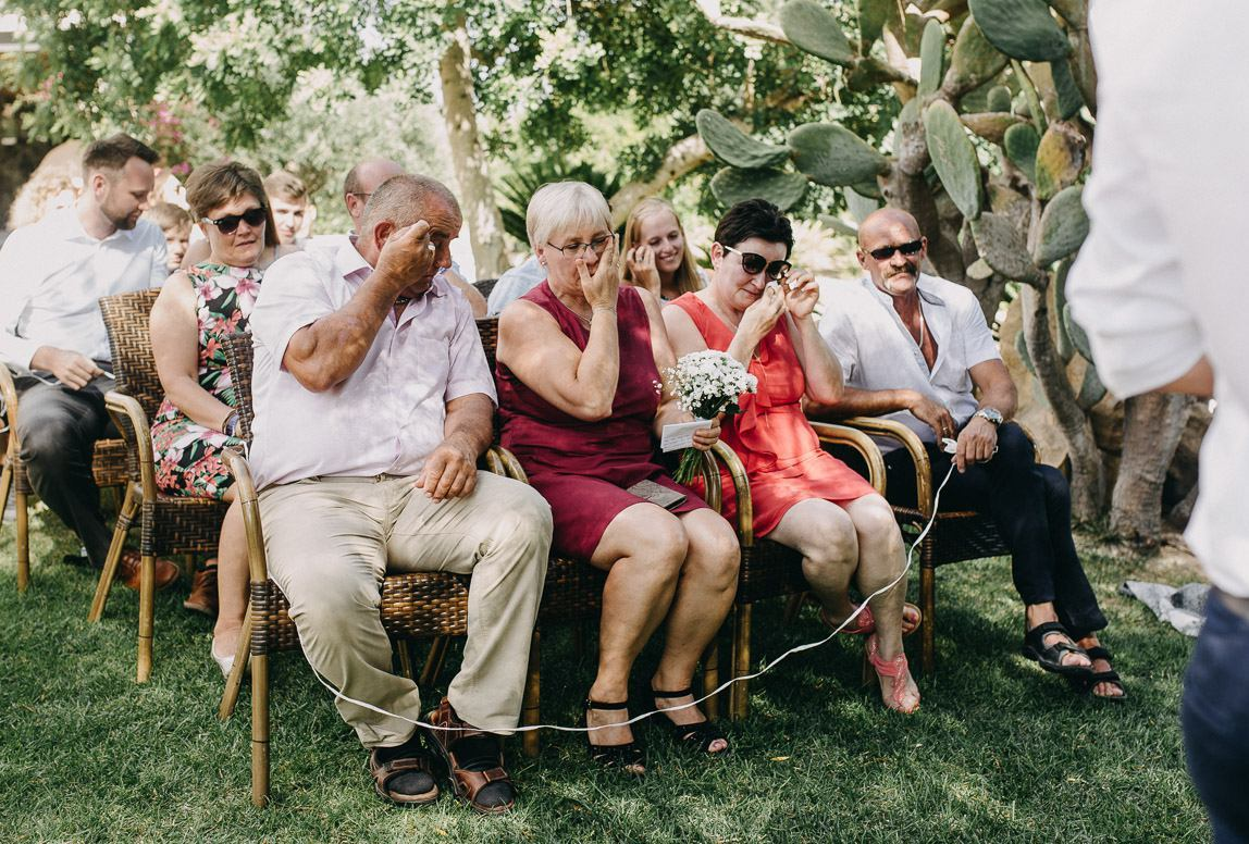 emotional wedding ceremony in mallorca by fine art photographer romany flower 1148x776 Mallorca Wedding Photojournalist