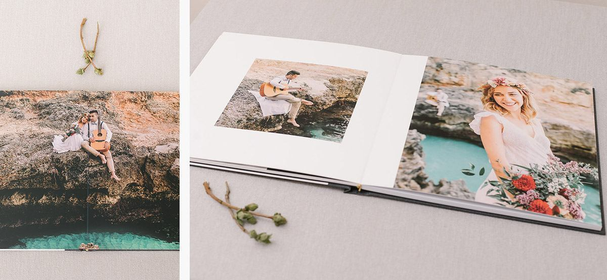 wedding album1 210 Mallorca Wedding Photographer | Is a professional wedding album worth the cost?