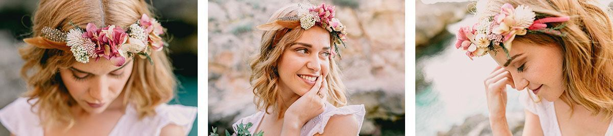 bride boho wedding majorca Wedding Photographer in Mallorca | Beach Boho Wedding Inspiration