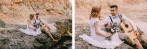 mallorca beach wedding photography 300x100 couple boho wedding