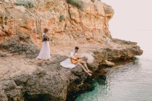 mallorca local wedding photographer 300x200 couple beach boho wedding