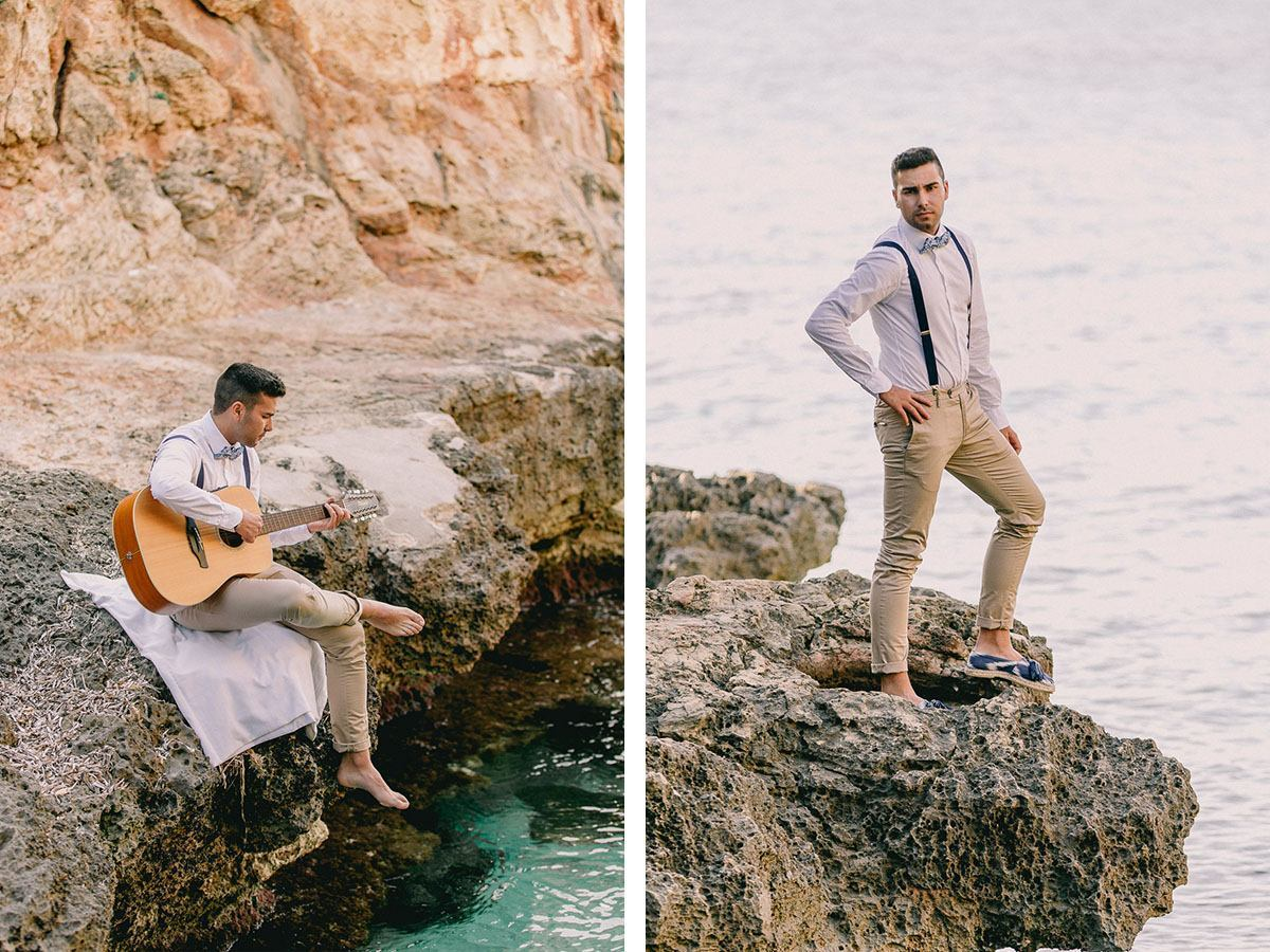 wedding photographer mallorca boho beach photoshooting Wedding Photographer in Mallorca | Beach Boho Wedding Inspiration