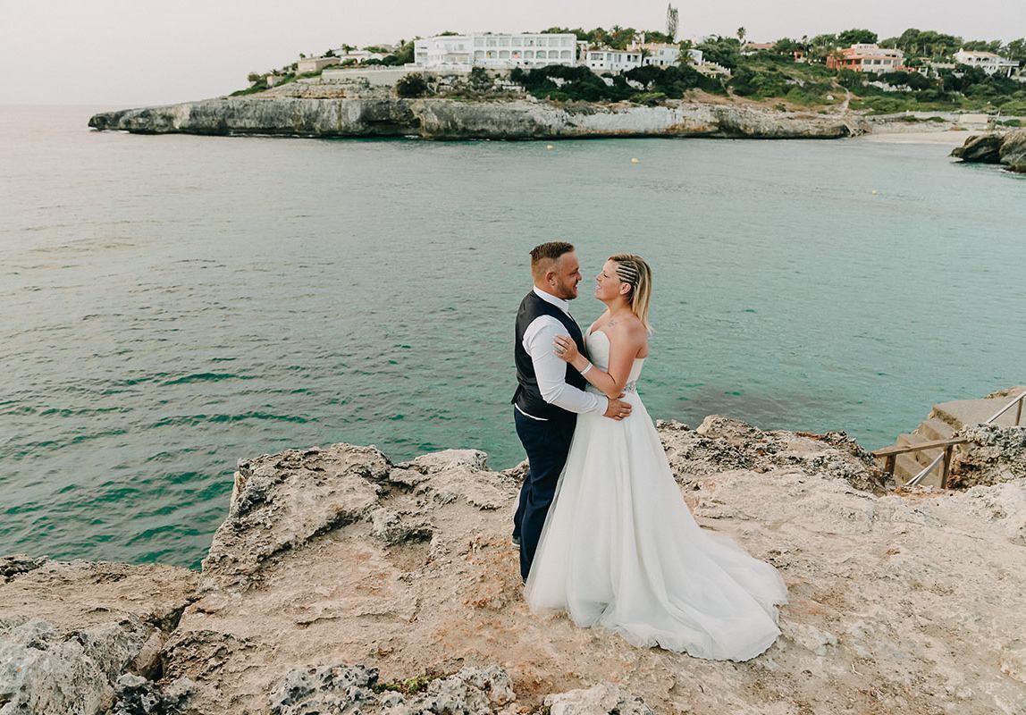 mallorca beach elopement wedding 1148x800 Best Mallorca Wedding Photographer