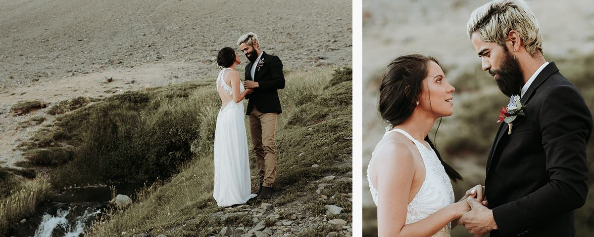 elopement photographer Chile Destination Wedding photographer in Chile   wilderness elopement on horseback