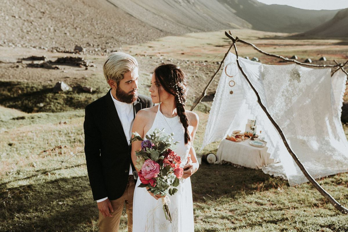 glamping wedding photographer chile Destination Wedding photographer in Chile   wilderness elopement on horseback